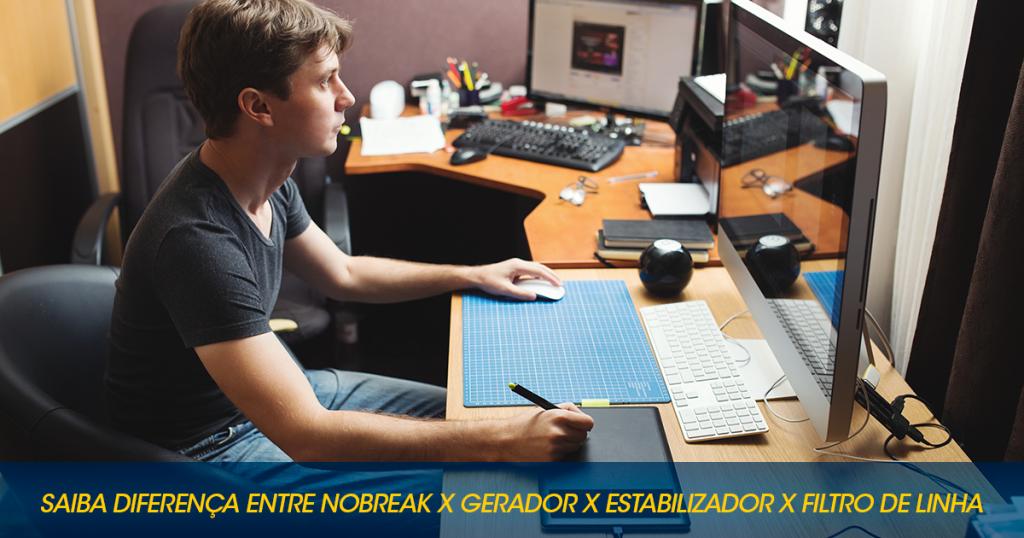 Saiba A Diferença Entre Nobreak X Gerador X Estabilizador X Filtro De Linha